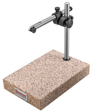 Starrett - Comparator Stand, Granite Base Upright Base Post & Gage Holding Rod - 675G  USA Mfg