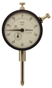 "Mitutoyo - 001 - 1"" Dial Indicator w Lug - 2416S **Calibrated Tool Special Till 09/30/2020**"