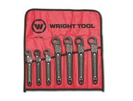 "Wright Tool -7 Pc Ratcheting Flare Nut Wrench - 3/8"" thru 3/4"" USA Mfg **Free Shipping**"