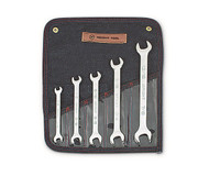 """Wright Tool -5 Pc Open End Wrench Full Polish 3/8"""" - 7/8"""" USA Mfg **Free Shipping**"""