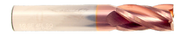 0.1378 - Melin - 3.5 mm SE 4 FL Carb E.M Std. Carbide End Mill Ticn Coated 46003