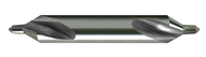 Melin - 11589 - # 0 60 Deg Double End Combined Drill and Countersink H.S.S - USA Mfg - 12 Ea Box