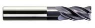 Melin - .750 - 3/4 x 3/4 x 0.875 loc SE 4 Fl Stub Variable Fl Carbide EM For HP Roughing nACo Sq - 15879