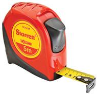 "Starrett - KTX34-5M-N Exact 3/4"" x 5m Metric Measuring Tape Graduated in Millimeter 30651"