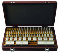 Mitutoyo -81 Pc Inch Square AS-0 Ceramic Gage Block Set w Certificate 516-202-26 **Free Shipping**