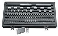 Mitutoyo -81 PC Inch Rectangular AS-0 Ceramic Gage Block Set w Certificate - 516-302-26 **Free Shipping**