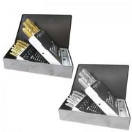 CTS - 18 Pc. HSS Tap & Dirll Bit Set N.C Set Tincoated Order No. 5790500