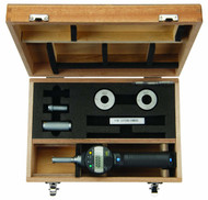 "Mitutoyo - 5 PC, 3 Head, Borematic Snap Open Bore gage Set  .5 - 1""  SPC  w Cert / 568-977-10 **Free Shipping**"