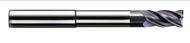Melin - .375 - 3/8 x 3/8 x 0.500 loc x 1.125 lbs 4 Fl. Ext. Neck. Variable Fl Carb EM For HP Roughing nACo R.015 - 15803
