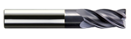 Melin - .500 - 1/2 x 1/2 x 1.000 loc SE 4 Fl Std Variable Fl Carbide EM For HP Roughing nACo Sq - 15823