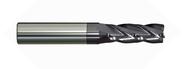 Melin - .500 - 1/2 x 1/2 x 1.500 loc SE 4 Fl Long Variable Fl Carbide EM For HP Roughing nACo R.030 rad - 19346