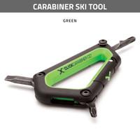 Carabiner Ski Tool - Green