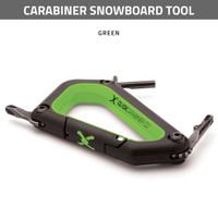 Carabiner Snowboard Tool - Green