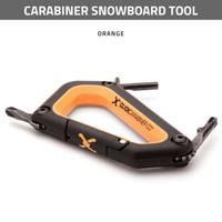 Carabiner Snowboard Tool - Orange