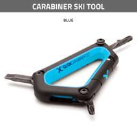 Carabiner Ski Tool - Blue