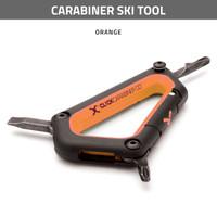 Carabiner Ski Tool - Orange