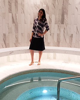 style-2623-swim-top-on-model-black-tie-dye-with-style-2622-black-skirt-s-.jpg