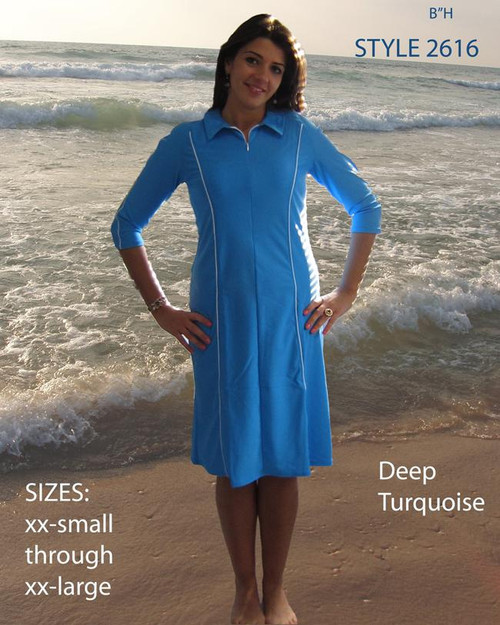 style 2616 in deep turquoise