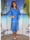 style 2629 in sailing blue  with white trim