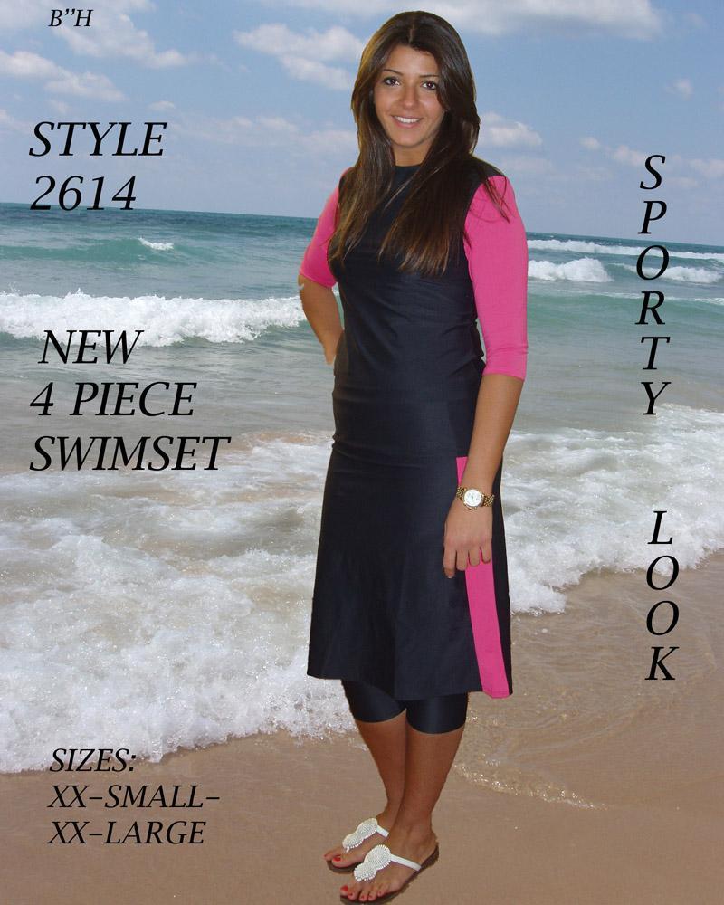 536a143237 Original modest swimwear sets