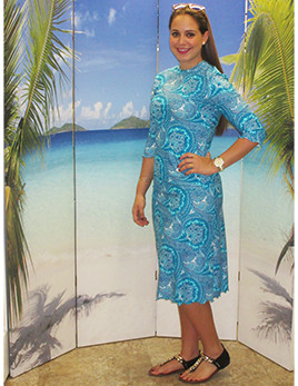 style 2600A-1 in jade paisley