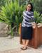 Style 2623 in Black tie dye