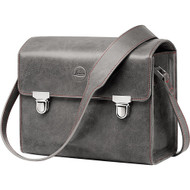 Leica System case, Small, Leather Stone Grey
