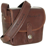 Oberwerth Bayreuth Small Leather Photo Bag - Light Brown