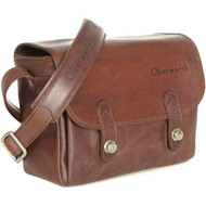 Oberwerth Freiburg Medium Photo Bag - Leather - Dark Brown