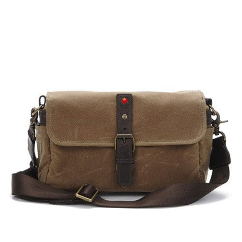 3789c111680 ... Shoulder Bags; Leica Collection by ONA, Bowery Camera Bag - Field Tan.  Image 1
