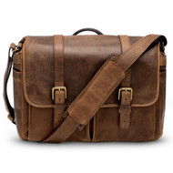 Leica Collection by ONA, Brixton Leather Camera Messenger Bag - Antique Cognac