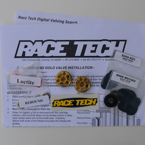 Race Tech Gold Valve Std Type 1 Combo FMGV 2820C