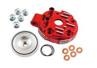 Yamaha BUD Cylinder Head - Red