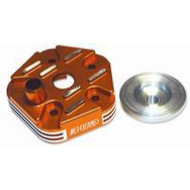 Husqvarna BUD Cylinder Head - Orange