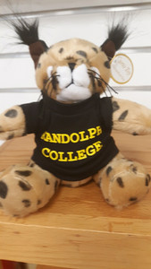"8"" Plush wildcat mascot"