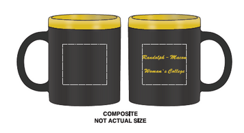 R-MWC black/yellow mug