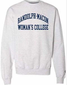 R-MWC Champion Sweatshirt in Heather Grey