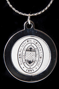 R-MWC Silver Seal Pendant Necklace