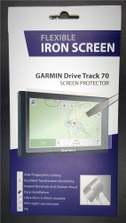 Flexible Iron Screen Protector for Garmin DriveTrack 70LMT