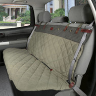 Solvit Premium Bench Seat Cover Extra Wide Green 47 L x 60 W