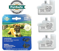 Petsafe Spray Refill Unscented 3 Pack