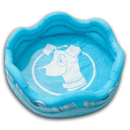 "Alcott Mariner Inflatable Dog Pet Pool Blue 48"" Round x 16"" H"