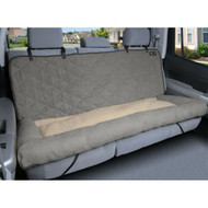 Solvit Large Car Cuddler Bench Seat Cover Grey