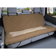 Solvit Large Car Cuddler Bench Seat Cover Brown