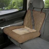 Solvit Small Car Cuddler Seat Cover Brown