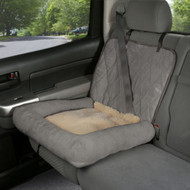 Solvit Small Car Cuddler Seat Cover Grey