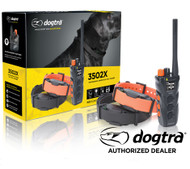 Dogtra 3502X Dual Dial Remote 2 Dog Trainer