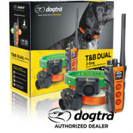 Dogtra TB DUAL-2  Two Dog Train and Beeper Collar System
