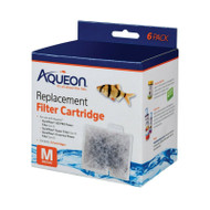 Aqueon Filter Cartridge Medium For Quiet Flow Power 10 Filter 6 Pack