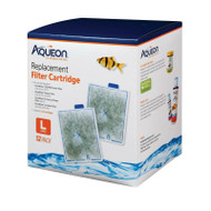 Aqueon Filter Cartridge LARGE 12 Pack For Quiet Flow Power Internal PRO Canister